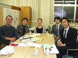 (8)記念誌「はばたけNPO!」の編集会議
