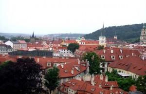 プラハ城から街を臨む