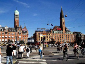 コペンハーゲン市内