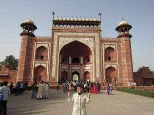 タジ・マハールの門