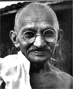 マハトマ・ガンジー(1869~1968年1月30日)