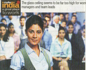Indian firms yet to value women/Hindustan Times 2012,3,6より