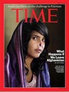 DVで逃げだそうとして鼻と耳を切り取られたアフガニスタン女性